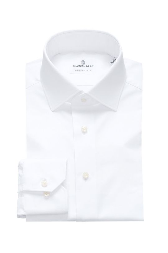 bílá Emanuel Berg - Košile Pánský