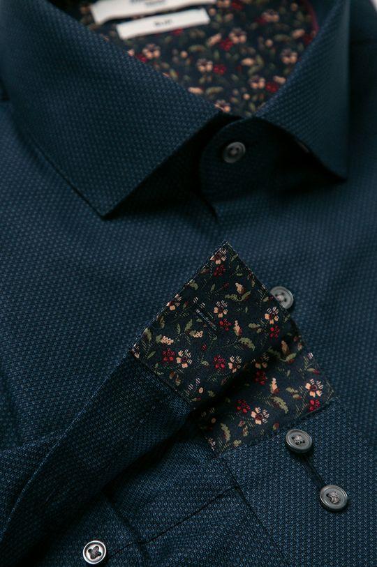 Premium by Jack&Jones - Camasa din bumbac bleumarin