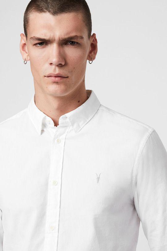 AllSaints - Koszula Redondo LS Shirt biały