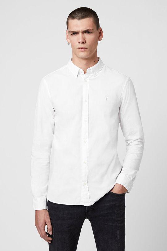 biały AllSaints - Koszula Redondo LS Shirt