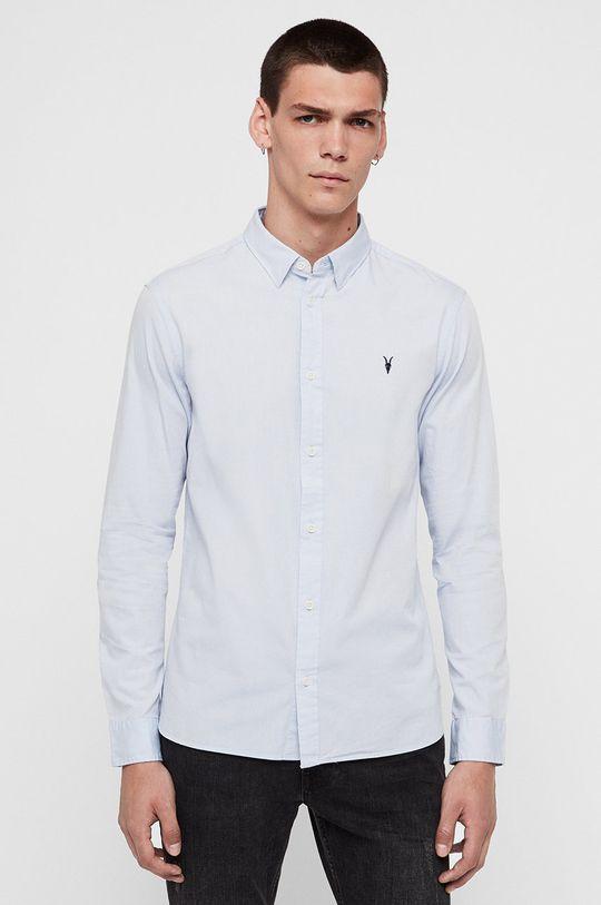 jasny niebieski AllSaints - Koszula Redondo LS Shirt Męski