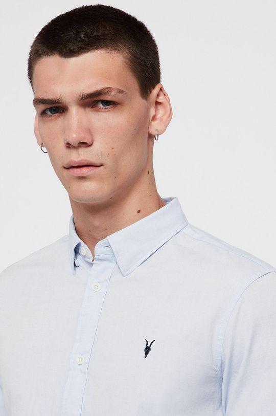 AllSaints - Koszula Redondo LS Shirt jasny niebieski