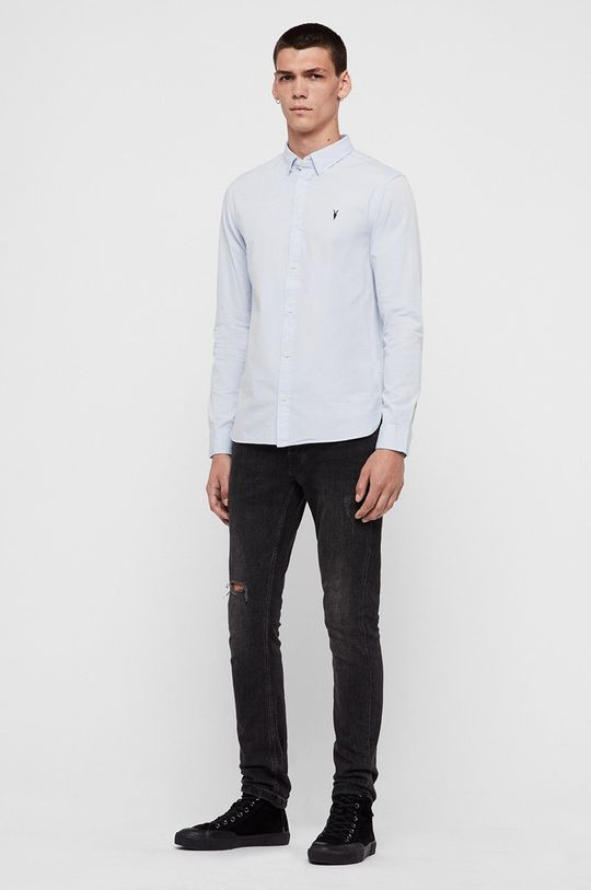 jasny niebieski AllSaints - Koszula Redondo LS Shirt