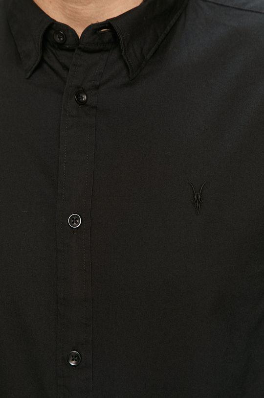 AllSaints - Koszula Redondo LS Shirt czarny