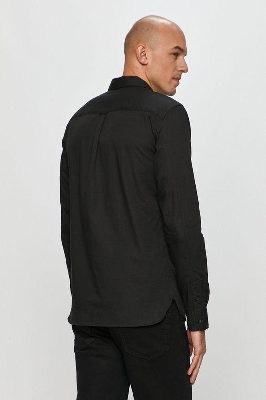 czarny AllSaints - Koszula Redondo LS Shirt