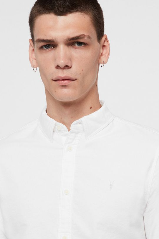 AllSaints - Koszula Hungtingdon biały