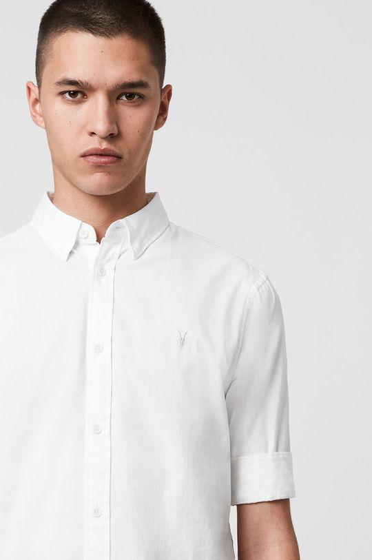 AllSaints - Košile Redondo HS Shirt bílá