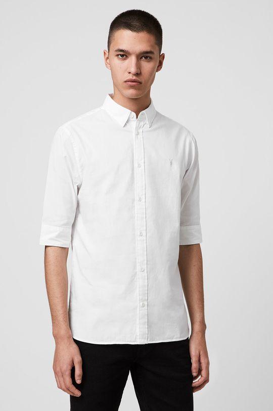 bílá AllSaints - Košile Redondo HS Shirt