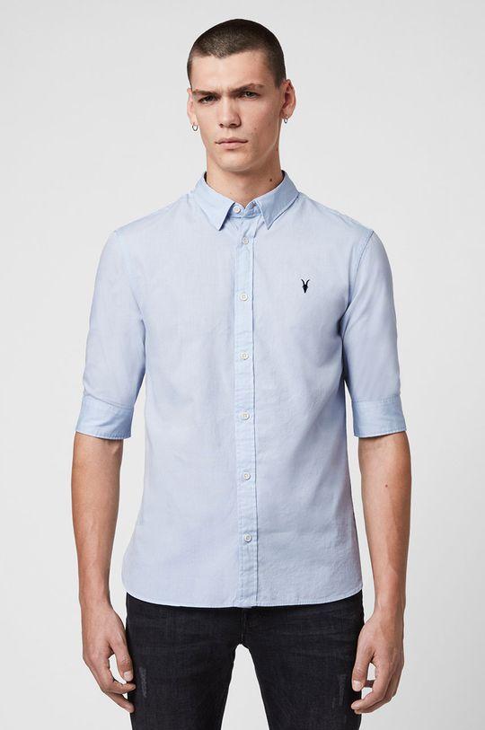 jasny niebieski AllSaints - Koszula Redondo HS Shirt Męski