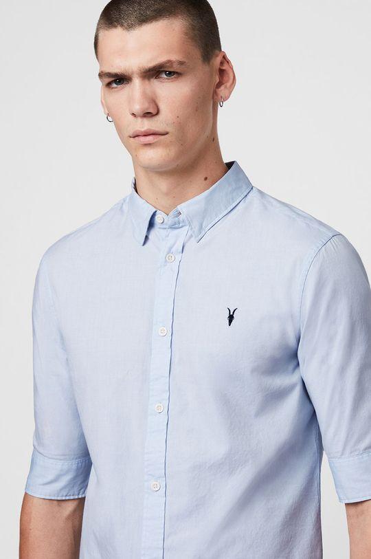 AllSaints - Koszula Redondo HS Shirt jasny niebieski