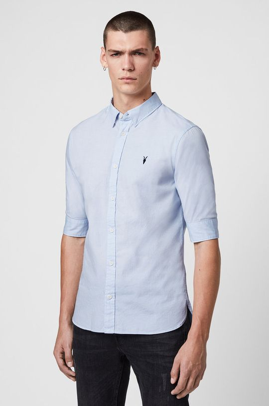 jasny niebieski AllSaints - Koszula Redondo HS Shirt