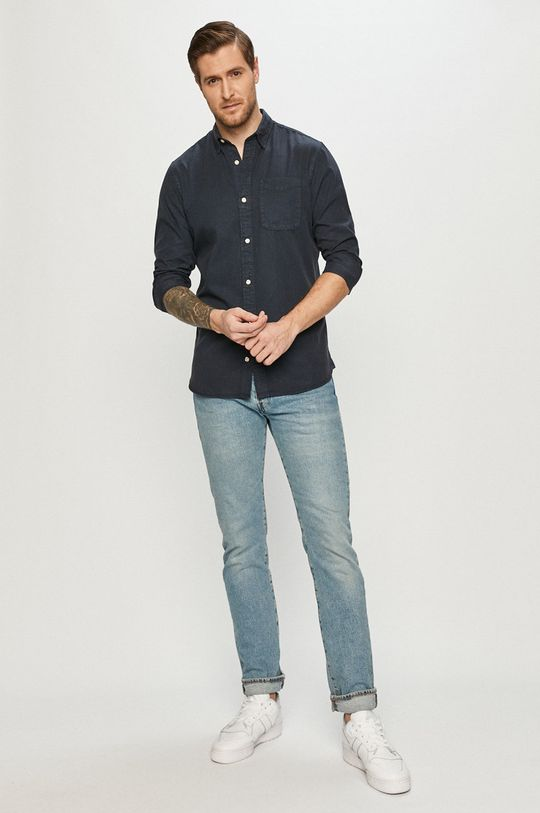 Jack & Jones - Košeľa  36% Bavlna, 64% Lyocell