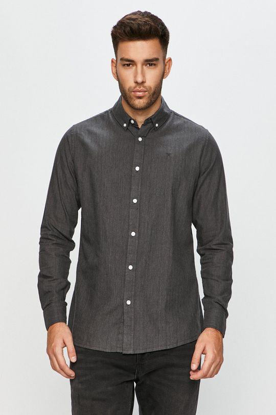 šedá Clean Cut Copenhagen - Bavlněné tričko Pánský