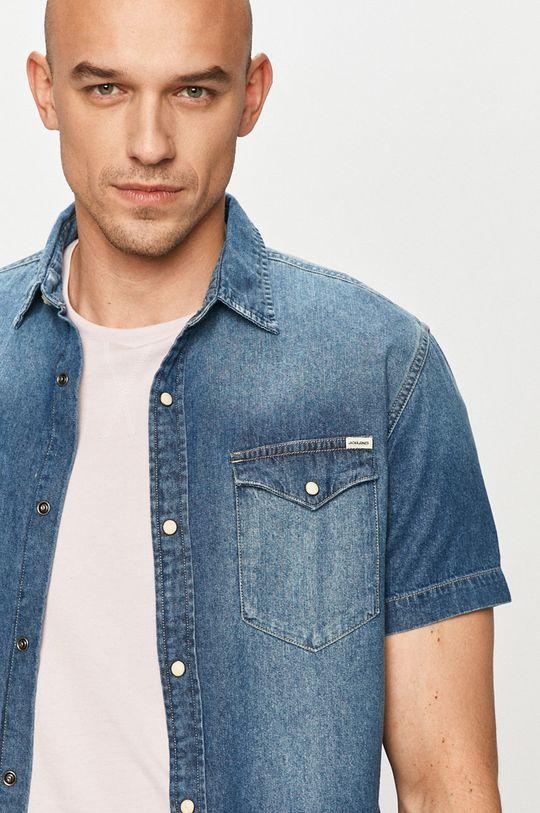 niebieski Jack & Jones - Koszula jeansowa Męski