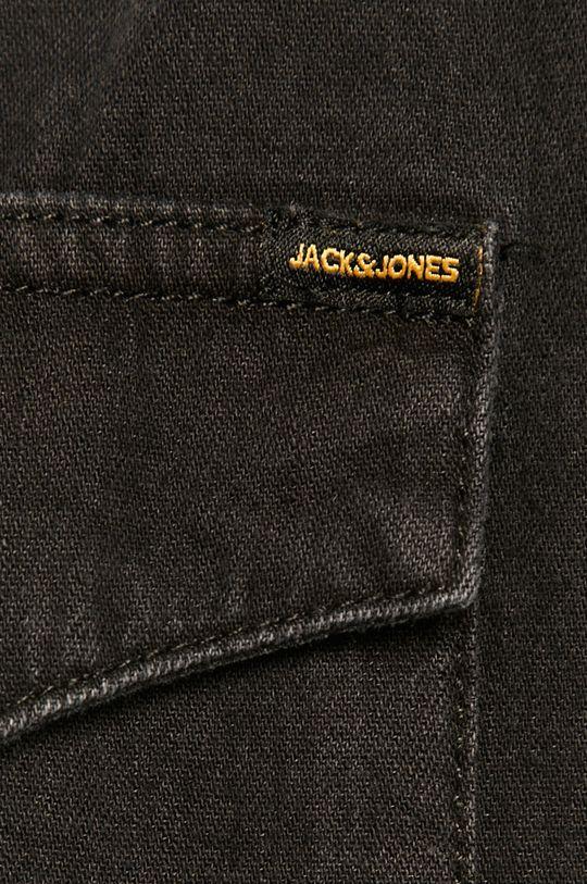 Jack & Jones - Koszula jeansowa czarny