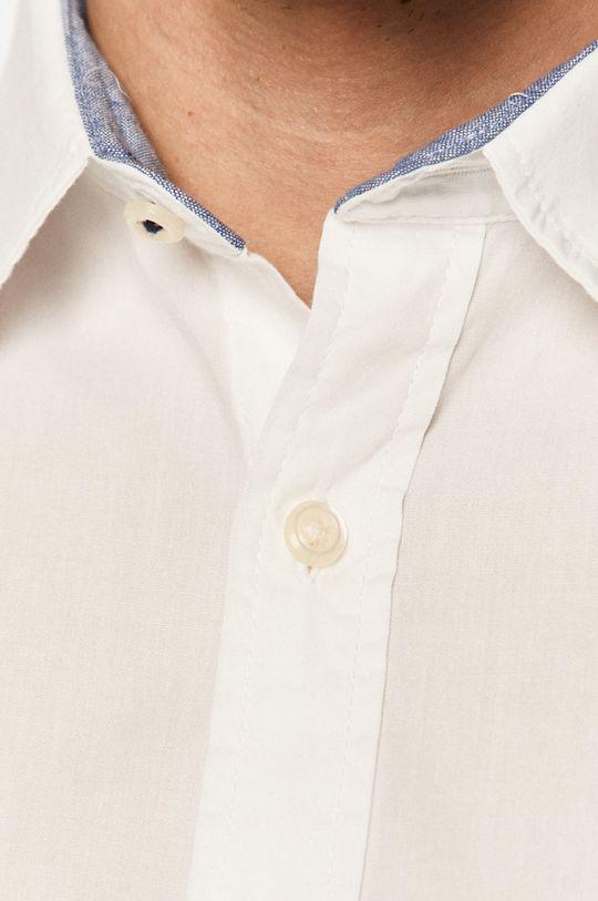 Jack & Jones - Bavlnená košeľa biela