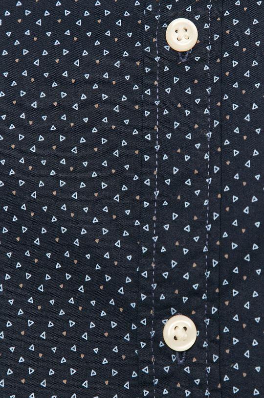 Jack & Jones - Koszula bawełniana granatowy