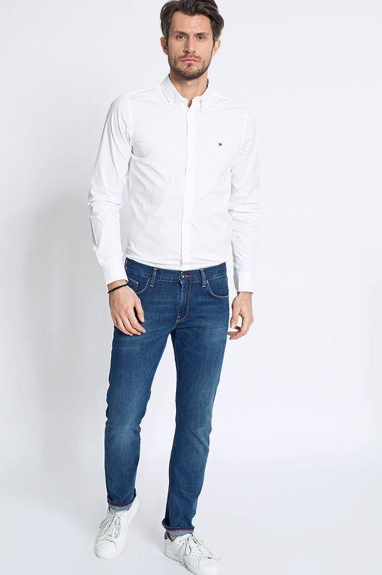 bílá Tommy Hilfiger - Košile Stretch Poplin