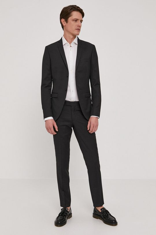 Tommy Hilfiger Tailored - Bavlnená košeľa  100% Bavlna