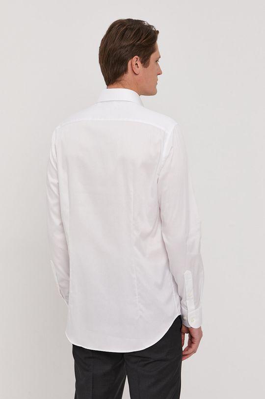 biela Tommy Hilfiger Tailored - Bavlnená košeľa