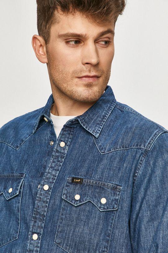 modrá Lee - Džínová košile Pánský