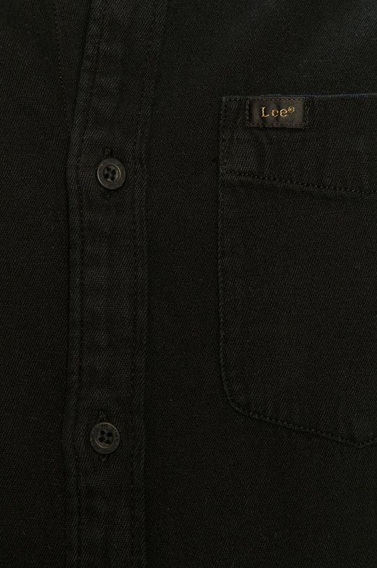 Lee - Koszula jeansowa czarny