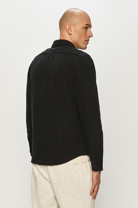 czarny Lee - Koszula jeansowa