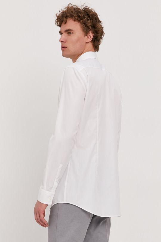 biela Boss - Bavlnená košeľa