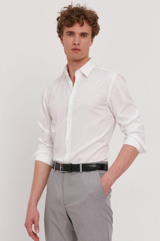 Boss - Bavlnená košeľa Pánsky