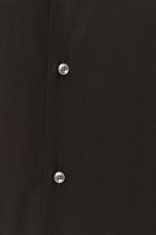 Boss - Koszula bawełniana czarny