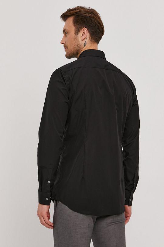 czarny Boss - Koszula bawełniana