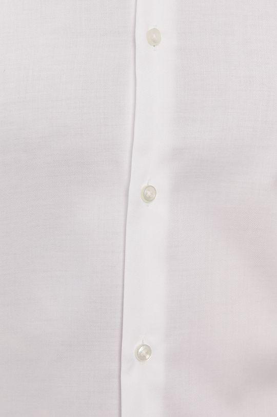 Boss - Bavlněné tričko bílá
