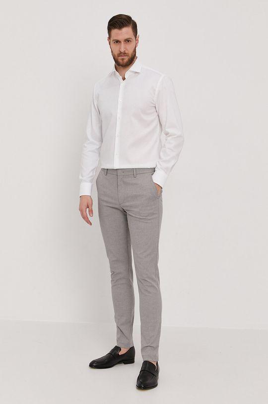 Boss - Bavlněné tričko  100% Bavlna
