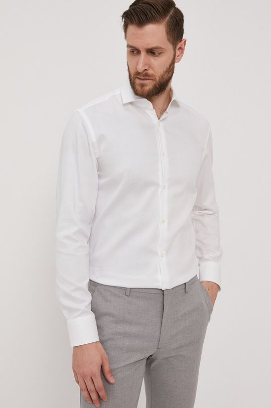 Boss - Bavlněné tričko Pánský