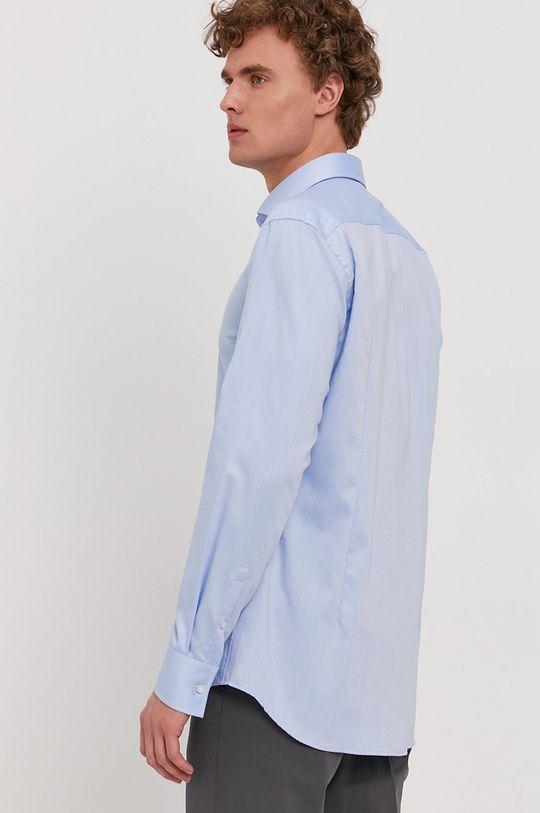 světle modrá Boss - Bavlněná košile