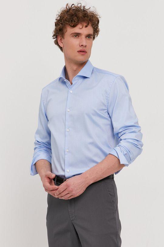 Boss - Bavlněná košile Pánský