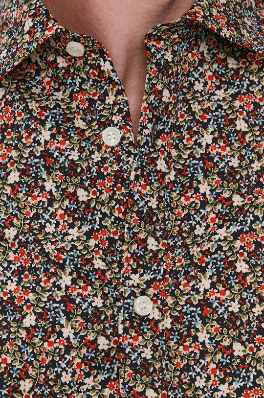 Selected - Bavlnená košeľa viacfarebná