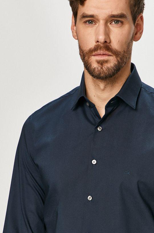 tmavomodrá Calvin Klein - Košeľa Pánsky