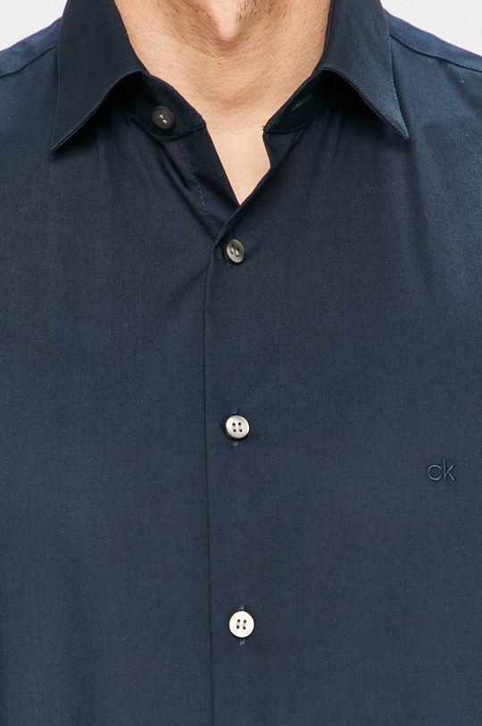 Calvin Klein - Košeľa tmavomodrá