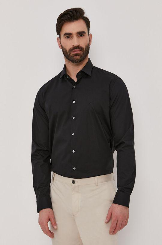 czarny Calvin Klein - Koszula