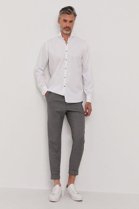 Karl Lagerfeld - Koszula bawełniana 100 % Bawełna