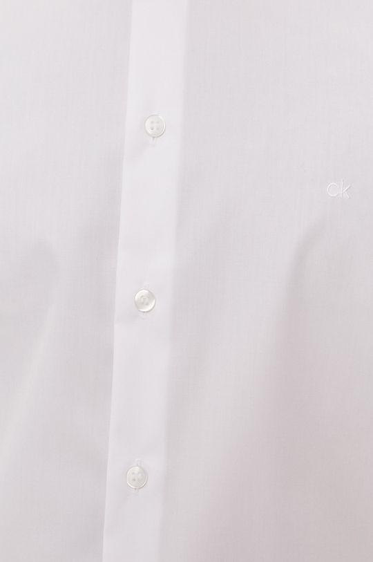 Calvin Klein - Koszula bawełniana biały