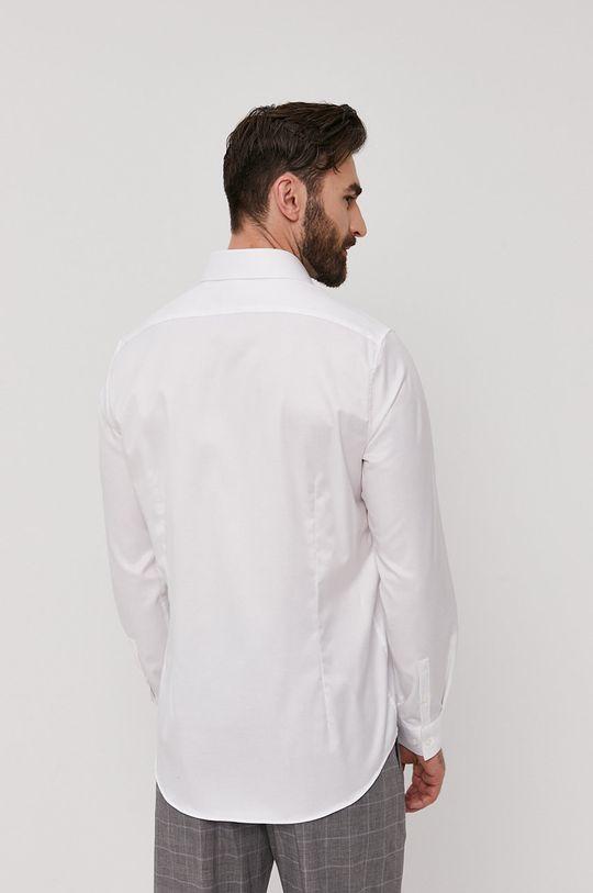 biela Calvin Klein - Bavlnená košeľa
