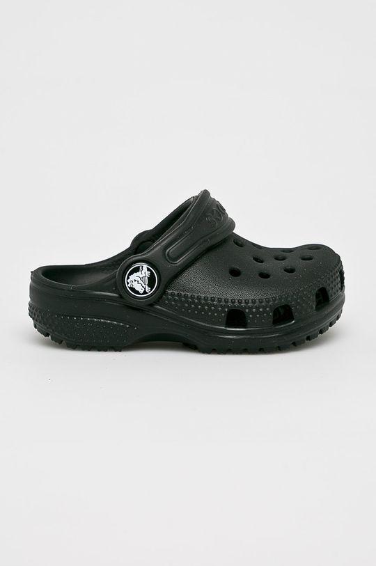negru Crocs - Slapi copii De băieți