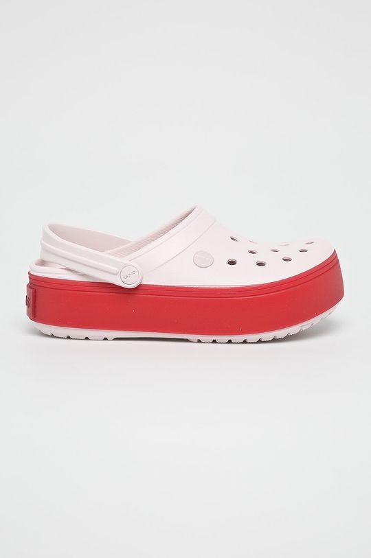 roz pastelat Crocs - Papuci De femei
