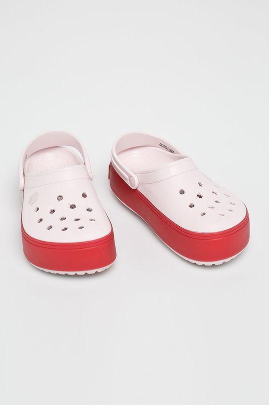 Crocs - Papuci roz pastelat