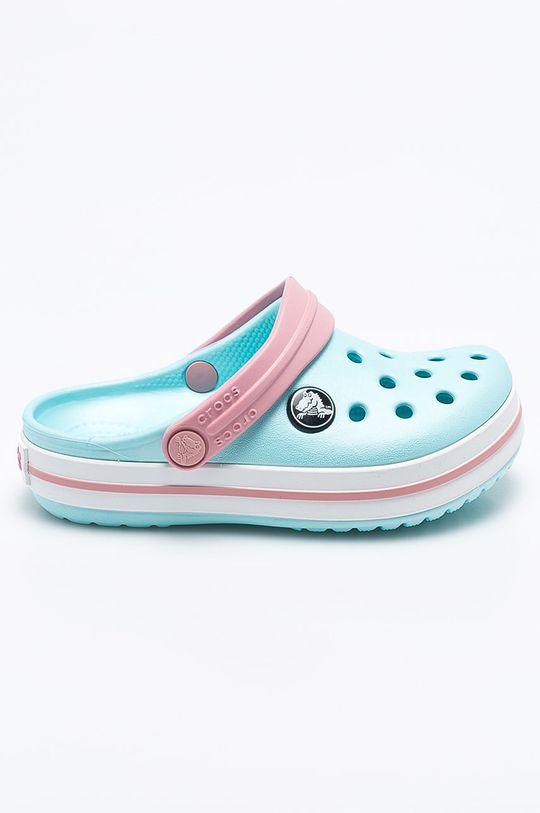 světle modrá Crocs - Dětské pantofle Dívčí
