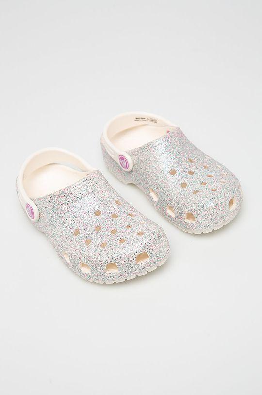 Crocs - Dětské pantofle bílá
