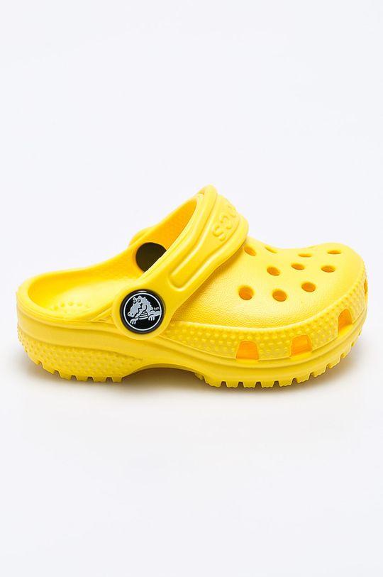 żółty Crocs - Klapki dziecięce Dziecięcy