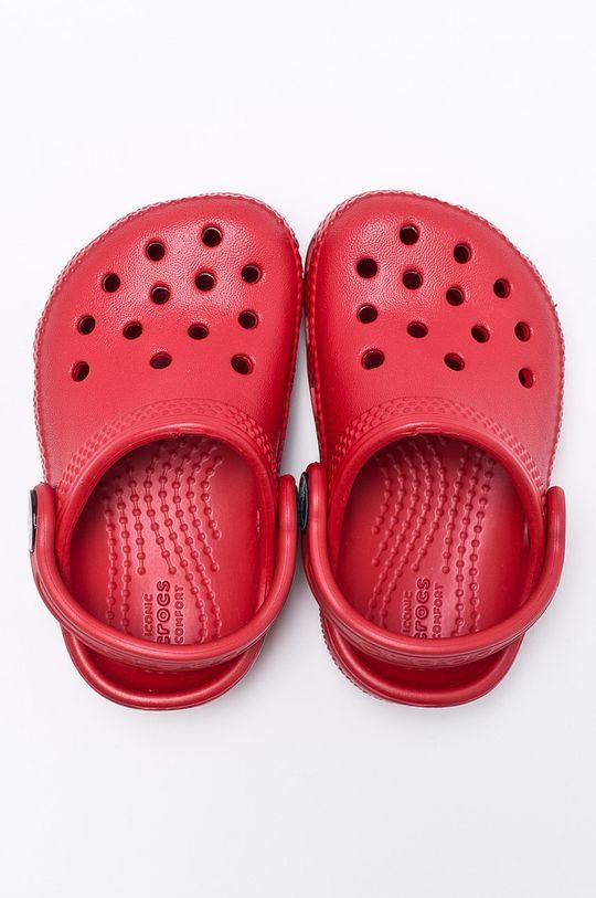Crocs - Papuci copii rosu ascutit